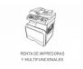 Renta de Impresoras y Multifuncionales