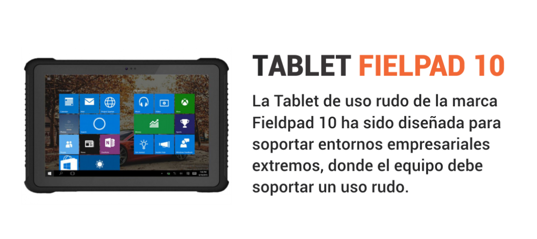 Fieldpad 10 Ruggetech